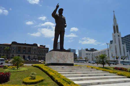 Estátua do Samora Machel